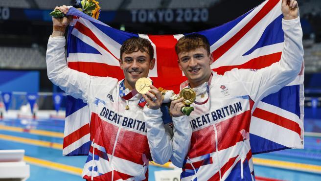 Tom Daley levnata el oro olímpico en Tokio 2020