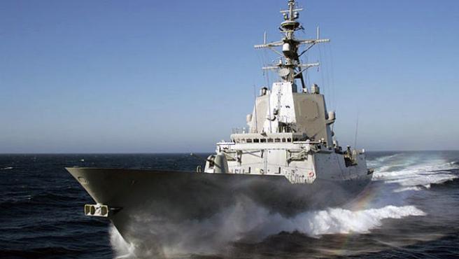 Detectan otros siete positivos en la fragata 'Almirante Juan de Borbón' tras su llegada a Ferrol