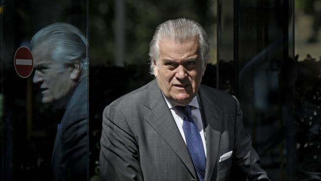 El extesorero del PP Luis Bárcenas, después de comparecer en la Audiencia Nacional el 16 julio de 2021.