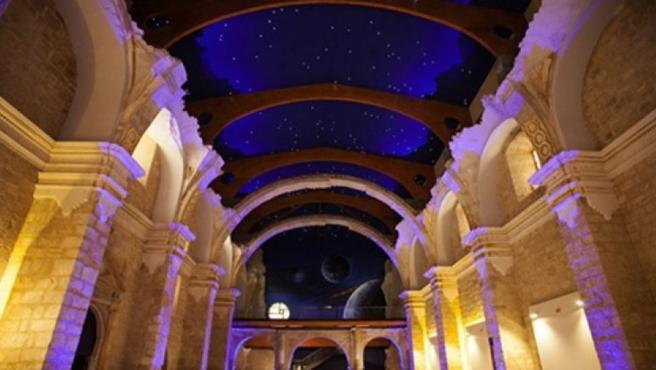 Cielos estrellados, desde el Monumento Starlight de Becerril de Campos.