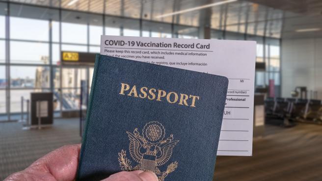 Pasaporte Covid para viajar en la Unión Europea.