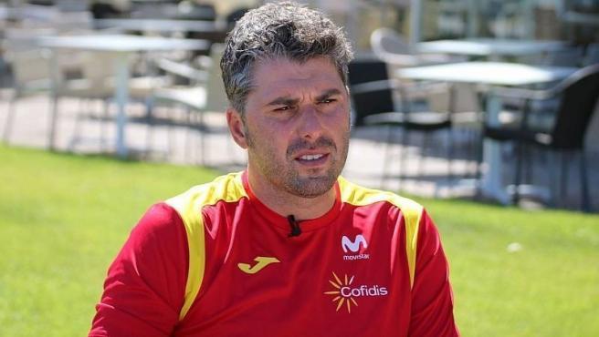 Pascual Momparler, seleccionador español de ciclismo.