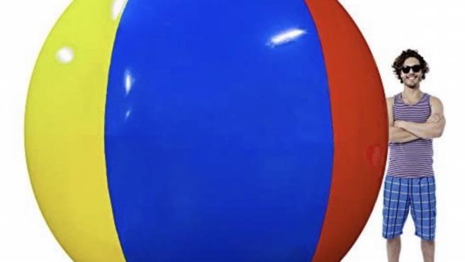 Imagen del balón que compraron.
