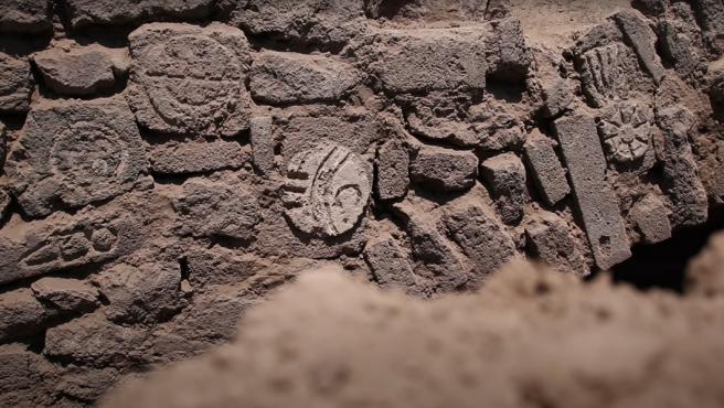 Imagen del túnel hallado en las afueras de la ciudad de México.