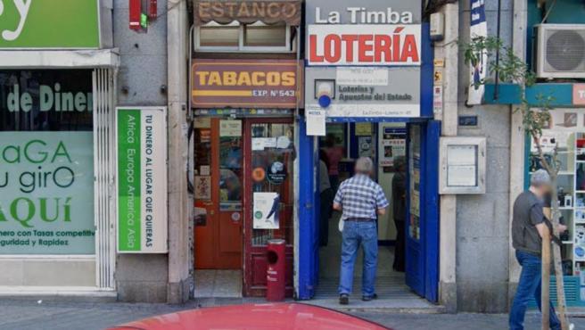 Administración de Loterías de Madrid.