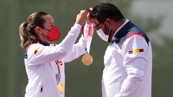 Fátima Gálvez y Alberto Fernández