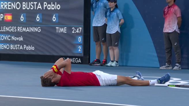 Pablo Carreño vence a Novak Djokovic en Tokio 2020