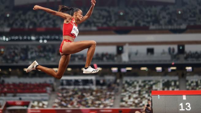 Ana Peleteiro, en los Juegos Olímpicos de Tokio