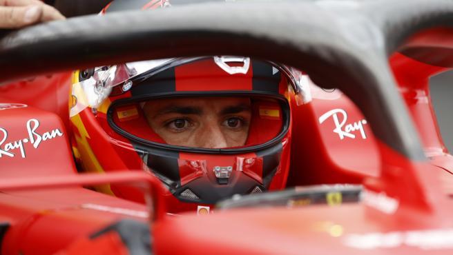 Carlos Sainz, at the Hungarian GP