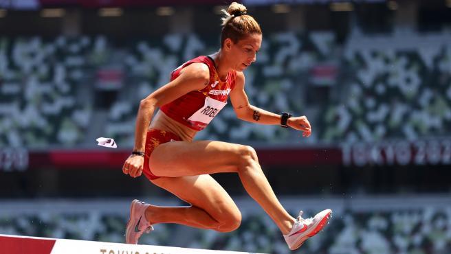 La atleta española Carolina Robles.
