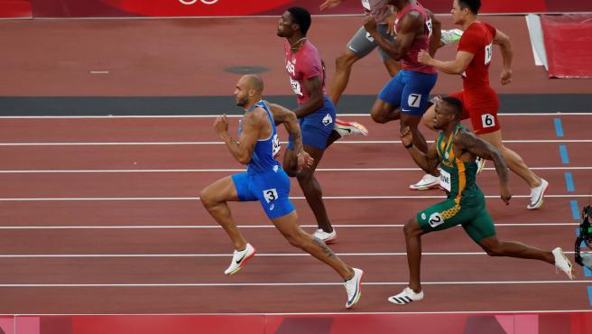 Lamont Marcell Jacobs, campeón de los 100 metros lisos en Tokio 2020