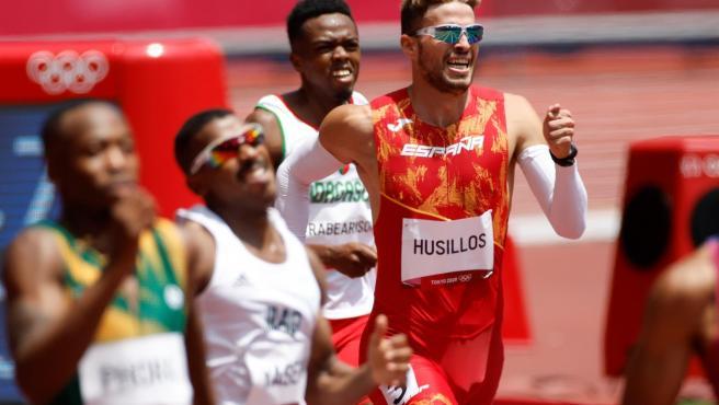 El atleta español Óscar Husillos.