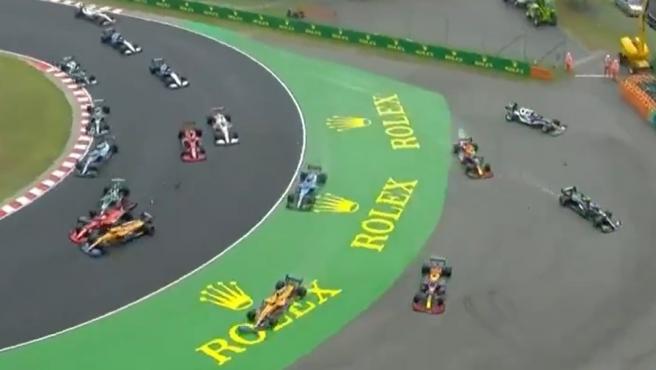 Hungarian F1 GP departure