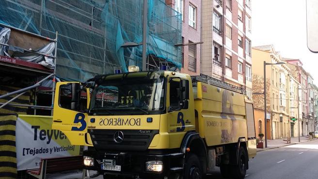 """CUBP exige al Gobierno asturiano medidas """"inmediatas"""" tras el accidente sufrido por un bombero interino del SEPA"""