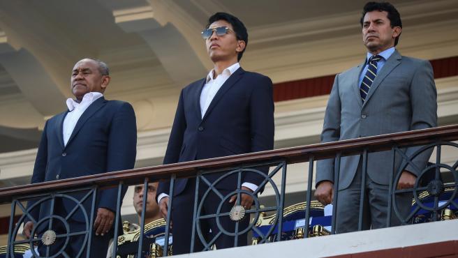El presidente de Madagascar, Andry Rajoelina, en una fotografía de archivo de 2019.