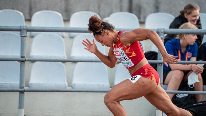 La atleta española Jaël Bestué.