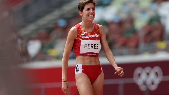 La atleta española Marta Pérez.