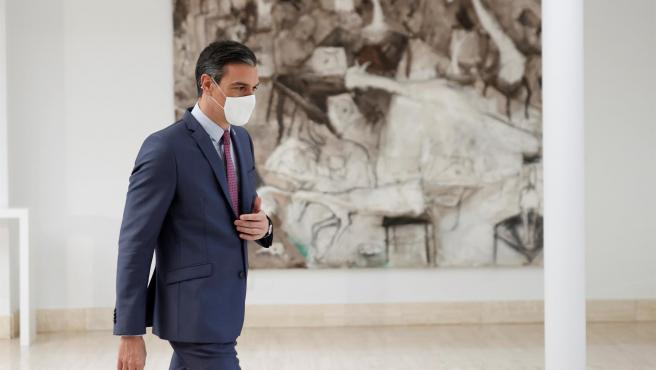 El presidente del Gobierno, Pedro Sánchez, la semana pasada