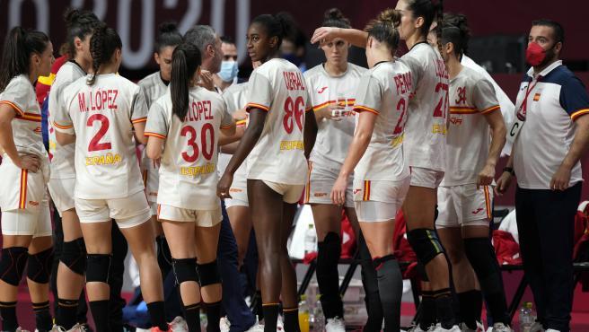 La selección española de balonmano femenino, en Tokio 2020
