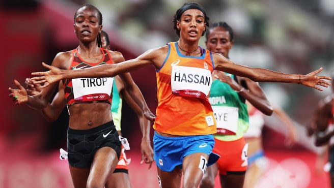 Sifan Hassan, en los Juegos Olímpicos de Tokio