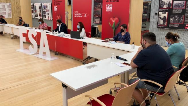 El PSOE asturiano prepara su 33 Congreso, que se celebrará en diciembre