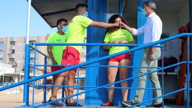 Medio centenar de playas de Costa Cálida-Región de Murcia son accesibles