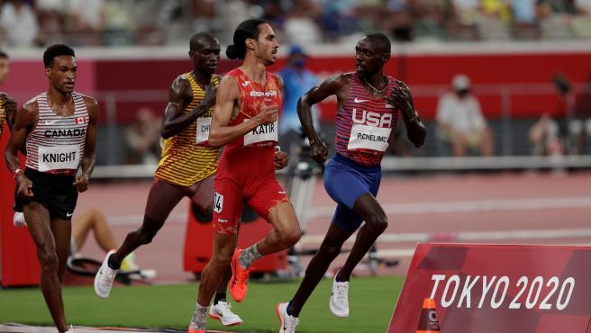 Mo Katir, en los Juegos Olímpicos de Tokio