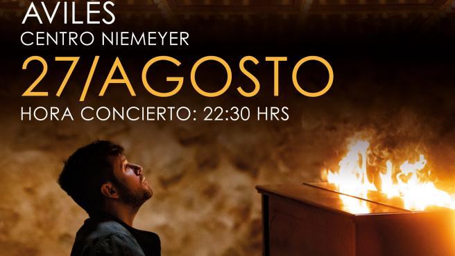 Pablo López actuará el 27 de agosto en el Centro Niemeyer