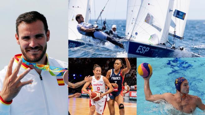 (Previa) Craviotto inicia el camino hacia su quinta medalla y Xammar-Rodríguez buscan un metal en vela