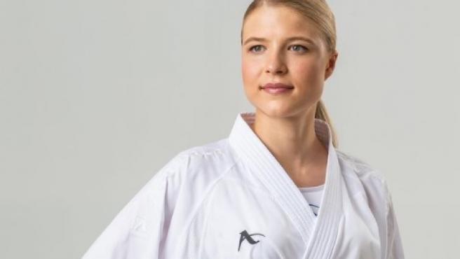 Anna Chernysheva, karateca rusa que ha dado positivo.