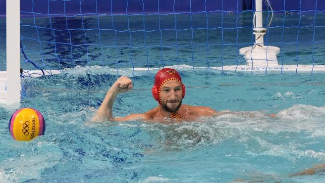 España gana (12-8) a Estados Unidos para llegar a semifinales en waterpolo