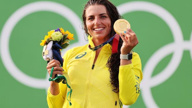 La piragüista australiana Jessica Fox.