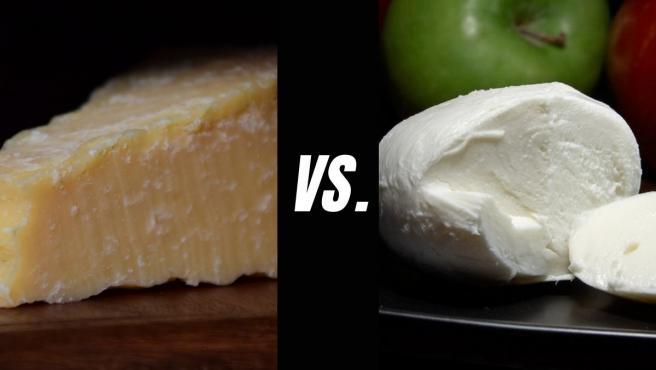 El parmesano y la mozzarella son dos de los quesos más usados para fundir.