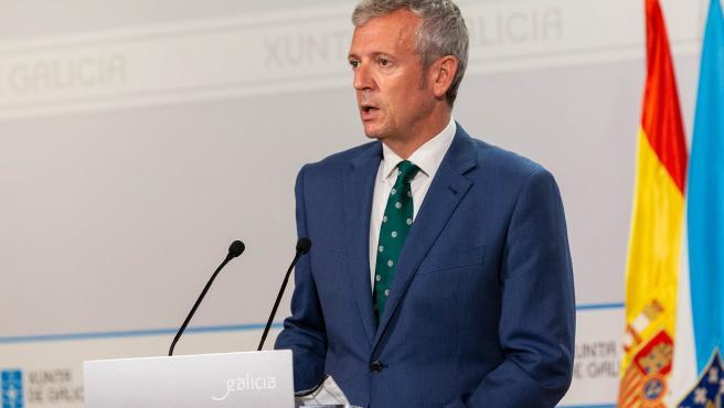 10,00 h.-            O vicepresidente primeiro da Xunta, Alfonso Rueda, comparecerá para dar conta das medidas acordadas no consello.  foto xoán crespo 15/07/2021