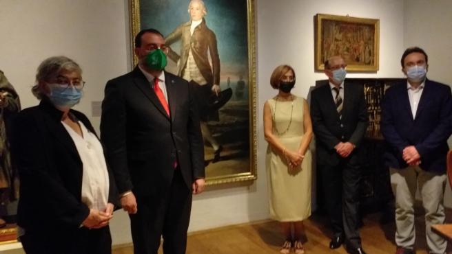Barbón anima a seguir los valores de Jovellanos en favor de una nueva Asturias y dejar de lado debates ficticios