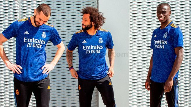 La nueva camiseta del Real Madrid para la temporada 2021/22.