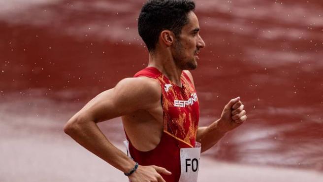 Ignacio Fontes, el atleta de 1.500 metros de los Juegos Olímpicos.