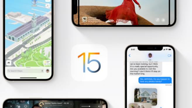 La marca ya ha lanzado la versión beta de iOS 15.