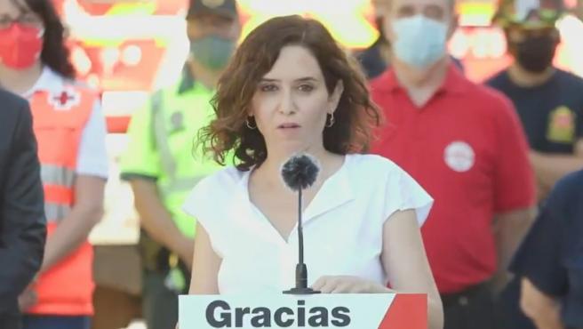 Isabel Díaz Ayuso en un acto.