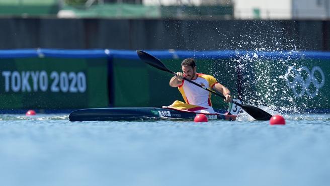 Saúl Craviotto, en los Juegos Olímpicos