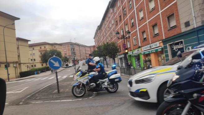 Trasladada al hospital una mujer que fue atropellada en Oviedo