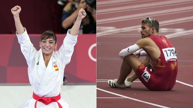 Sandra Sánchez y Óscar Husillos, dos caras opuestas en los Juegos Olímpicos de Tokio