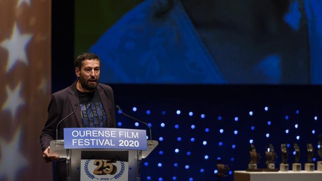 Alfonso Blanco recibirá el Premio Ourense en la 26 edición del OUFF