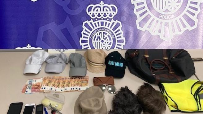 Sucesos.- Cinco detenidos de dos grupos organizados dedicados a robos en el aparcamiento del aeropuerto