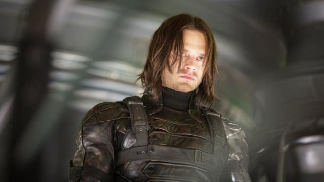 Sebastian Stan en 'Capitán América: El Soldado de Invierno'