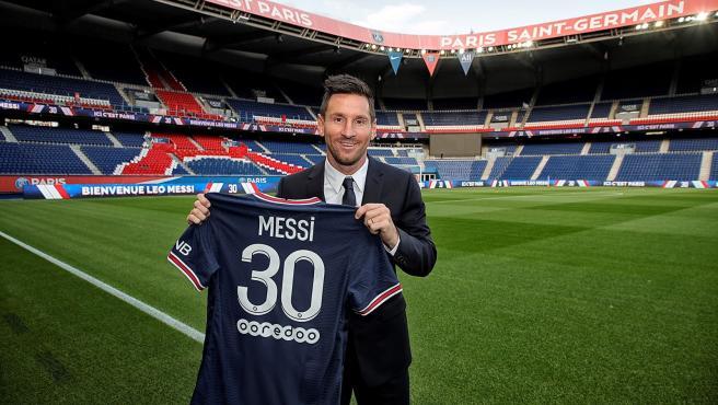 Messi llevará el 30 en la alineación del PSG, un número que ya lució en sus primeros años en el FC Barcelona.