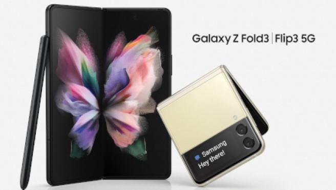 El Samsung Galaxy Z Fold3 5G y el Galaxy Z Flip3 5G