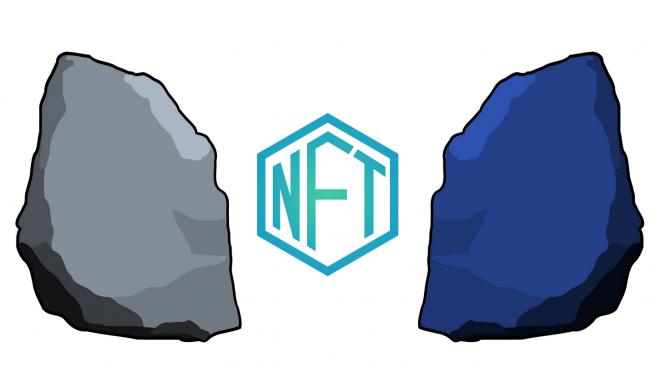 Los NFT se compran en un momento determinado o mediante subastas con criptomonedas.