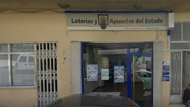 Administración de Loterías en Macael, Almería.