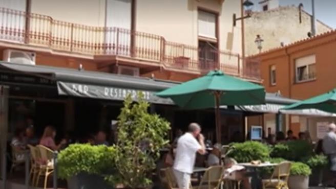 Imagen de archivo del bar de Begur donde han ocurrido los hechos.